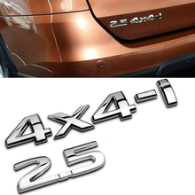 Car Styling 3D Aluminum 2.5 4×4-i Metal Stickers racing Badge Emblem Decal Refitting Tail Mark Sticker for Nissan X-Trail