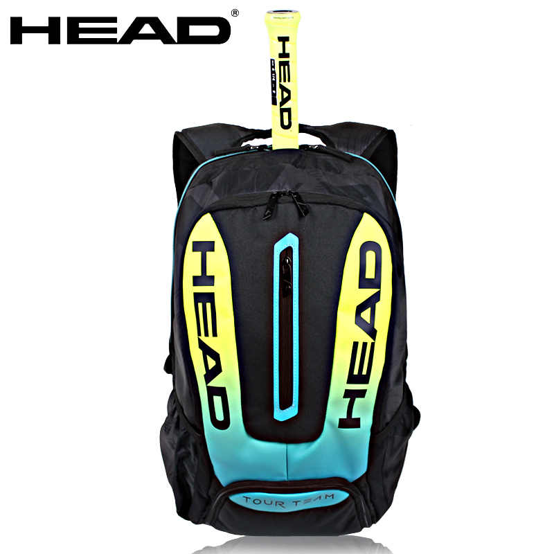 Head Tennis Bag  Gasquet Rackets Racquets Squash Badminton Shuttlecock Bag Pack Tennis Backpack Bag Tennis Racquet Backpack