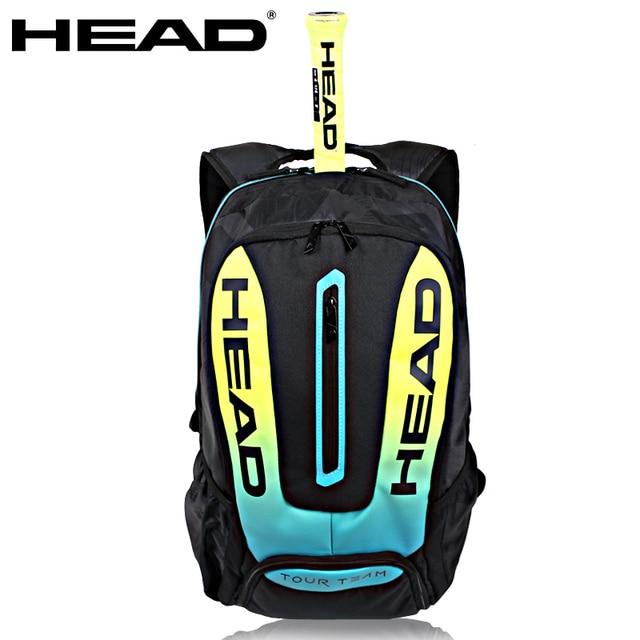 2018 Head Tennis Bag Gasquet Rackets Racquets Squash Badminton Shuttle Pack Backpack