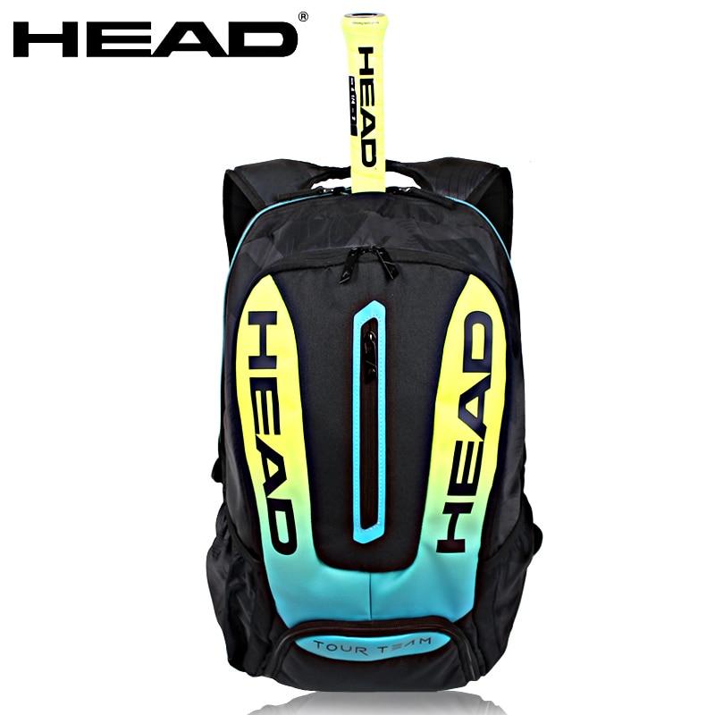 Careful Head Tennis Bag Gasquet Rackets Racquets Squash Badminton Shuttlecock Bag Pack Tennis Backpack Bag Tennis Racquet Backpack