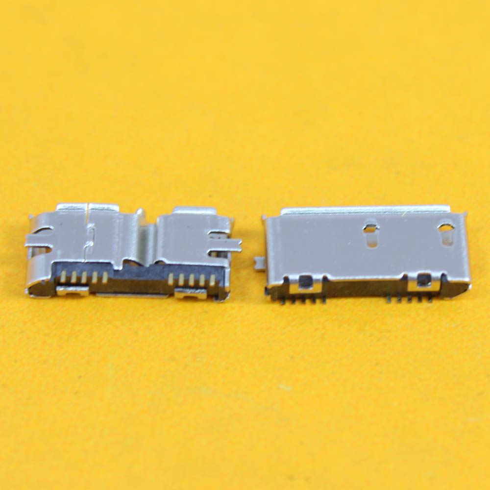 Micro USB jack Socket konektor 3.0 10 P 10 PIN perempuan SMT jenis Untuk Samsung Note3 N900 N9002 N9005 N9006 N9008 N9009 SM-N9009