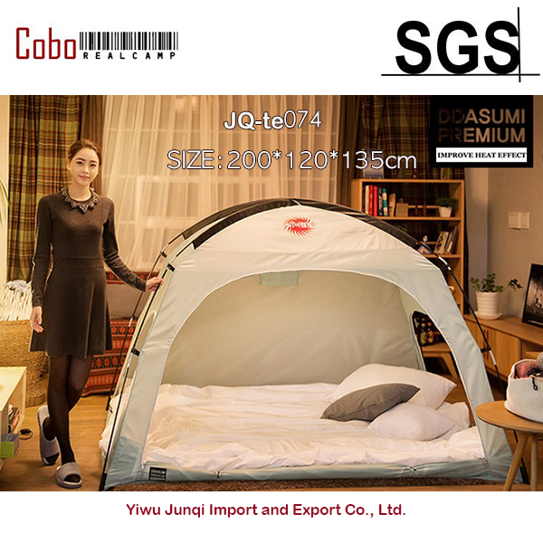 DDASUMI tkaniny ogrzewanie namiot-pojedynczy, Super łóżko pojedyncze, 1-2persons (kryty namiot)