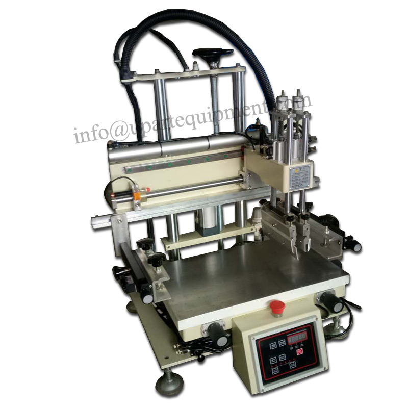 silk screen printing machine, desktop silk screen printing machine, cheap flat bed silk screen printing machine automatic balloon printing machine balloons silk printing machine balloons serigraphy machine