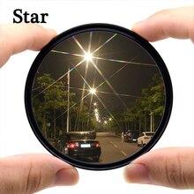 KnightX Sterne 4 6 8 Linie Filter Für canon sony nikon zubehör d70 farbe 500d 60d 700d licht 200d 49 52 55 58 62 67 72 77 mm