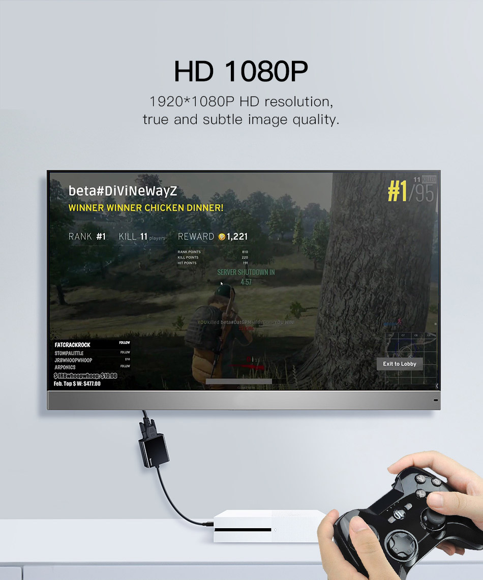 HTB1IeweA5OYBuNjSsD4q6zSkFXaE Baseus HDMI to VGA Cable HDMI VGA Adapter Digital HDMI to VGA Jack 3.5 mm Converter Video Aux Audio Splitter For Laptop PS4 TV