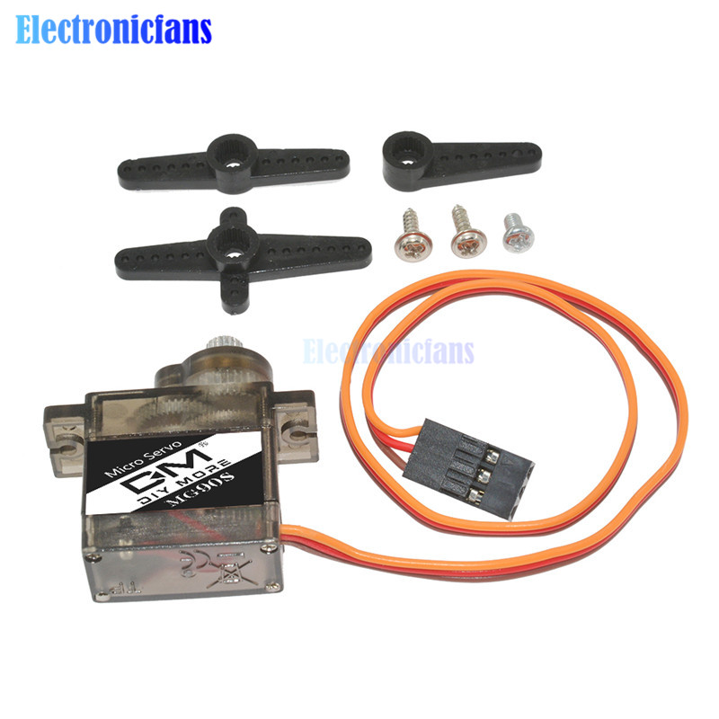 1pcs MG90S Metal Gear Digital 9g Analog Servo For Rc Helicopter Plane Boat Car MG90 9G IN STOCK