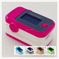 Sound alarm,Beep,SPO2 PR setting, CE FDA OLED Fingertip Pulse Oximeter Bood Oxygen SPO2 PR oximetro moniter HOT PINK EE4