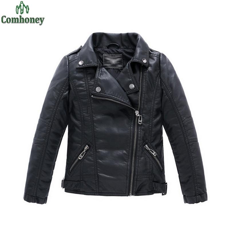 Cheap leather biker jacket
