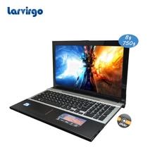 2017 Фирменная Новинка Windows 7/8 системы 15.6 дюймов ноутбук Intel Celeron J1900 2.0 ГГц 8 г ОЗУ 750 г HDD в камера с DVD-RW