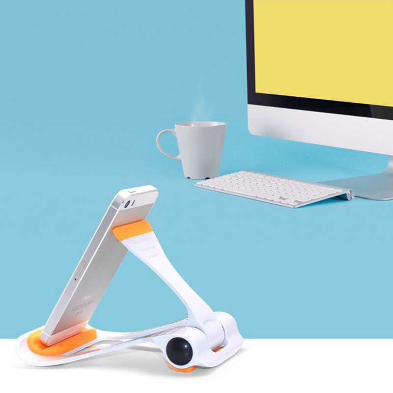 Adjustable Universal Phone Bracket Non-Slip Desk Stand Save effort Tablet Phone Holder Home Office Organizer Storage