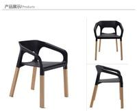 Мода обеденный стул, деревянный стул офиса, мебель для гостиной, дерево + пластик мебель, Цвета стул барный стул