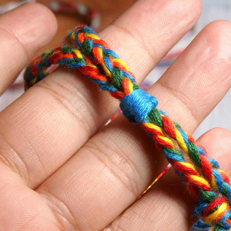 MOON GIRL богемный ручной работы плетеный браслет Модный бохо шик девушки дружбы амулет pulseras Femme Прямая поставка