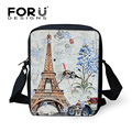 Designer Small Handbag Travel Messenger Bags for Women Casual Eiffel Tower Shoulder Bag Female Lady Girls Mini Crossbody Bags