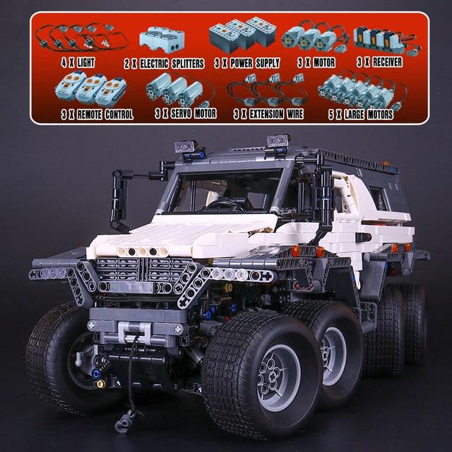 DHL 23011 2959Pcs Technic Series Off-road vehicle Model Building Kits Block Bricks Educational Boy Toys Car Model Gift
