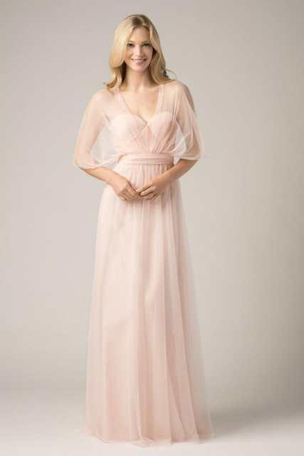 Online Shop 2018 Convertible Bridesmaid Dresses Blush Pink Custom ...