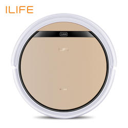 ILIFE V5s Pro пылесос-робот с  сильным притяжением и ультратонким корпусом , влажная и  сухая уборка, лучише пользовать для волос и твердого пола