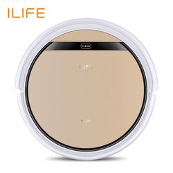 ILIFE V5s Pro Vacuum Cleaner Robot Sweep & Wet Mop Automatic Recharge for Pet hair and Hard Floor Powerful Suction Ultra Thin