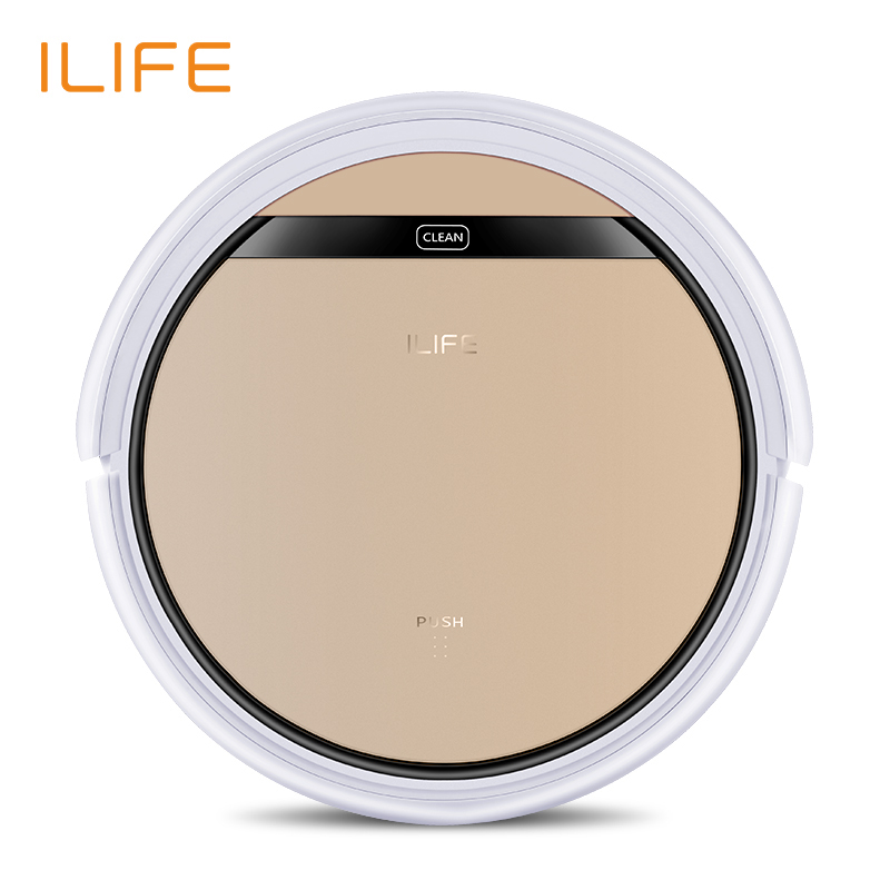 ILIFE V5s Pro Vacuum Cleaner Robot Sweep & Wet Mop Automatic Recharge for Pet hair and Hard Floor Powerful Suction Ultra Thin-in Vacuum Cleaners from Home Appliances