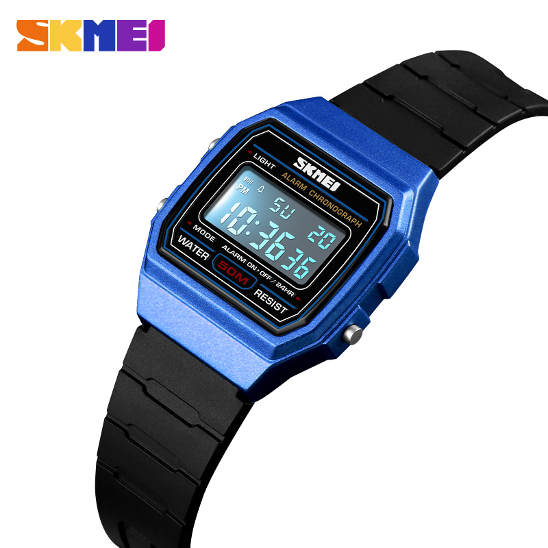 SKMEI NEW Kids Watches Sports Style Waterproof Wristwatch Alarm Clock Luminous Digital Watches Relogio Children Watch 1460