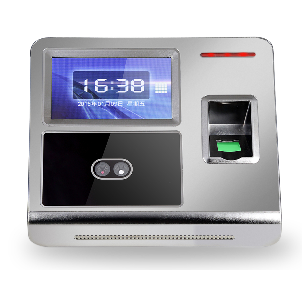 Face Recognition Time Attendance FACE7 Biometric Reader Time Recording