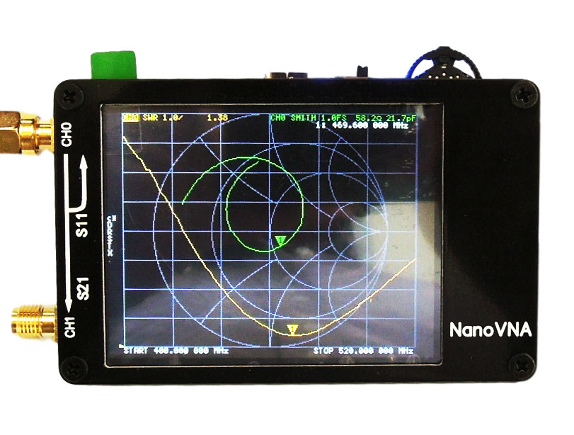New 2 8 inch LCD NanoVNA Vector Network Analyzer MF HF VHF UHF Antenna Analyzer Standing