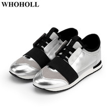 цены New Women Casual Shoes Lace-up Sneakers Breathable Adult Female Tenis Footwear Stylish Student Flat Shoes Soft Anti-skid Design