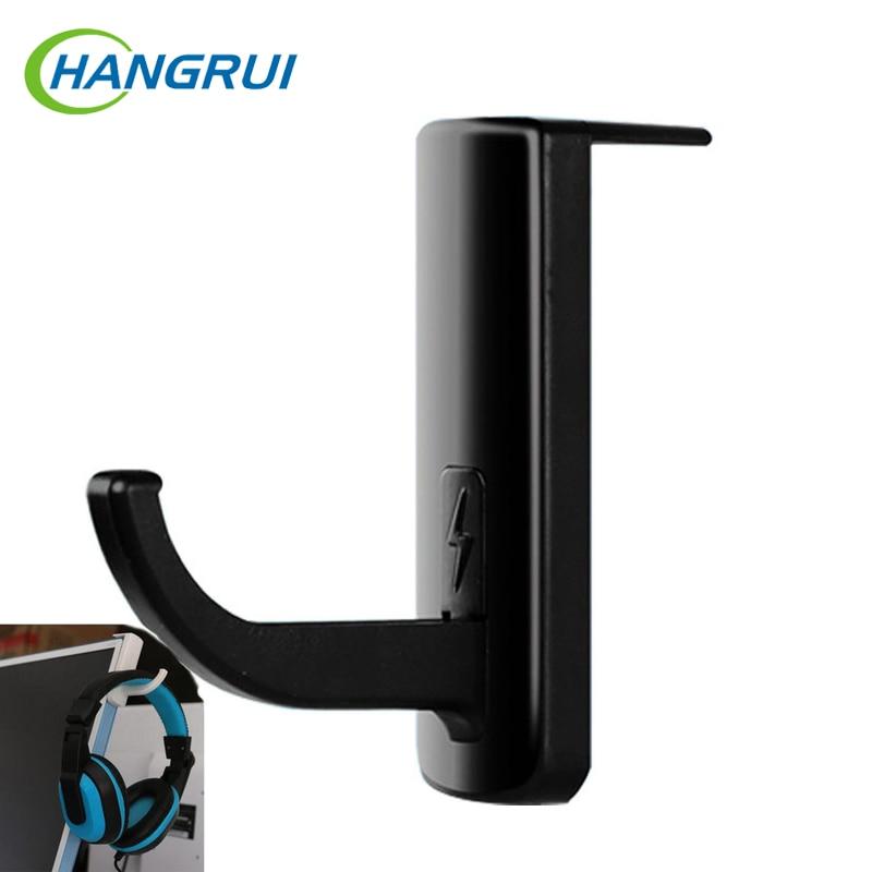 Hangrui Headphone Holder Hanger Wall PC Monitor Stand Earphone Wall/Desk Display Stand Bracket Hanger Headphones Accessories