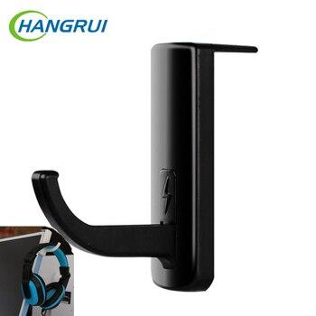 Hangrui Headphone Holder Hanger Wall PC Monitor Stand Earphone WallDesk Display Stand Bracket Hanger Headphones Accessories