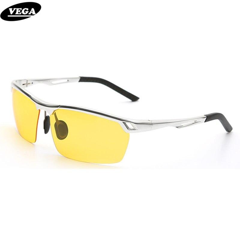 VEGA Polarized Driving Sunglasses At Night Vision Goggles Men Women gafas de sol polarizadas 8550
