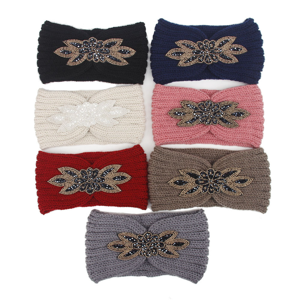 f3742bf40521a7 2017 Fashion Womens Crochet Headband Knit Hairband Handmade Winter Ear  Warmer Headbands Hair Band Headwrap Hair Accessory 7color-in Women's Hair  Accessories ...