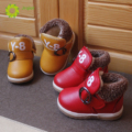 JRQIOT 2017 Autumn Baby Cotton Shoes Snow Boots Baby Toddler Shoes Flat With Thick Cashmere Warm  Shoes Cotton Boots