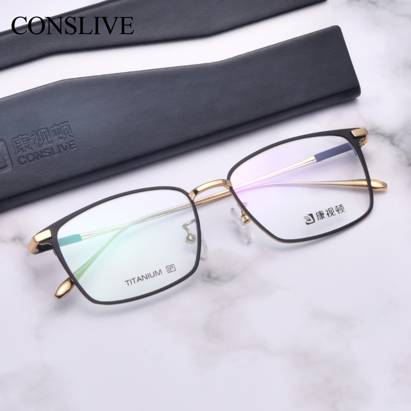 Men Optical Frame Titanium Dioptric Glassses Men Prescription Multifocal Eyeglasses Titanium Glasses Spectacles L1831