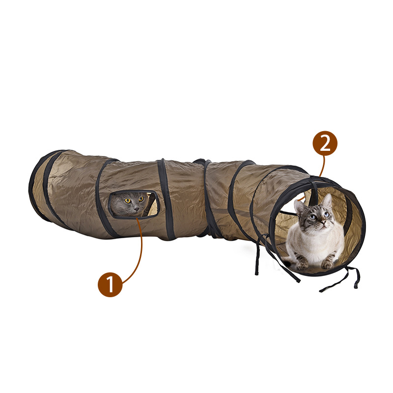 Cat Play Tunnel Toy