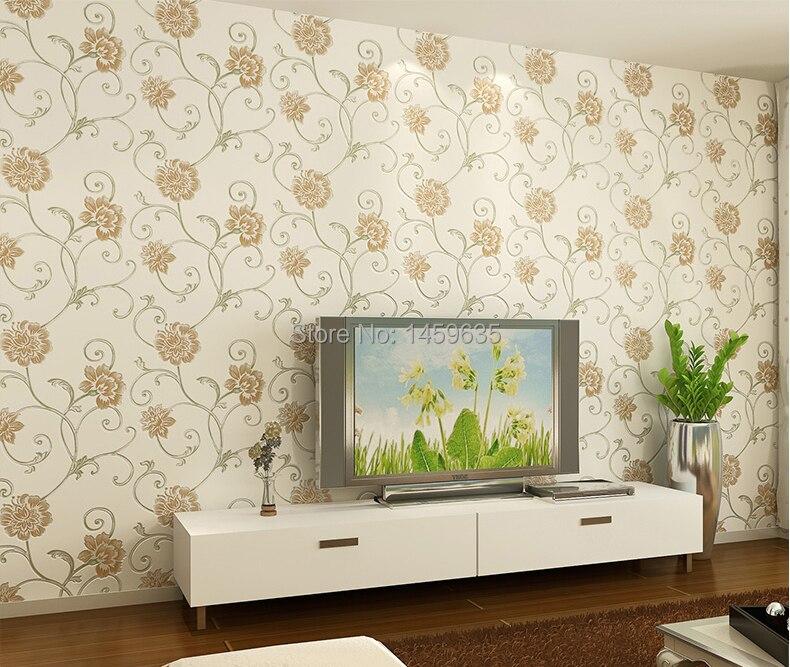 aliexpress koop paars stereoscopische 3 d bloem behang