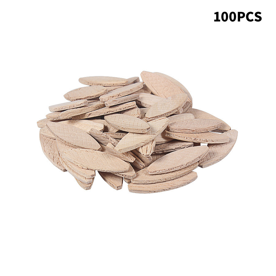 100PCS No.0# Assorted Wood Biscuits For Tenon Machine Woodworking Biscuit Jointer