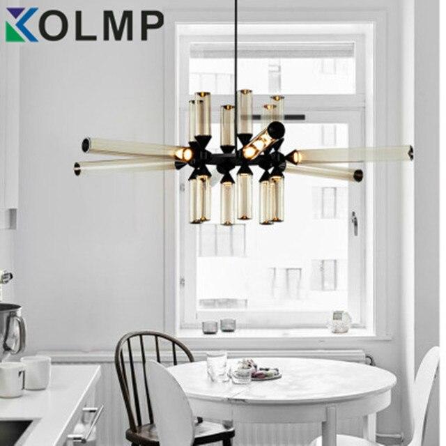 industrial lighting for home. Plain Lighting Postmodern Glass Tube Chandelier Led Fashion Design Indoor Home Lighting  Loft Industrial For On Lighting For Home H