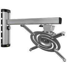 Soporte de proyector de aleación de aluminio de aviación de alta intensidad, ajustable, se mueve rápidamente, montaje Universal en techo de pared, suspensión de proyector