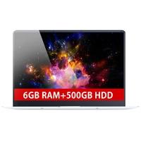 15,6 дюйма 6 ГБ Оперативная память + 500 ГБ HDD Intel 4 ядра быстрый запуск Процессор Windows 10 Системы 1920 * 1080P full hd Wi Fi Bluetooth GPS Тетрадь