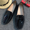 New Design Women Flat Shoes Pu Leather Women Flats Driving Shoes Comfortable Soft Moccasins Fashion Casual Leather Shoes