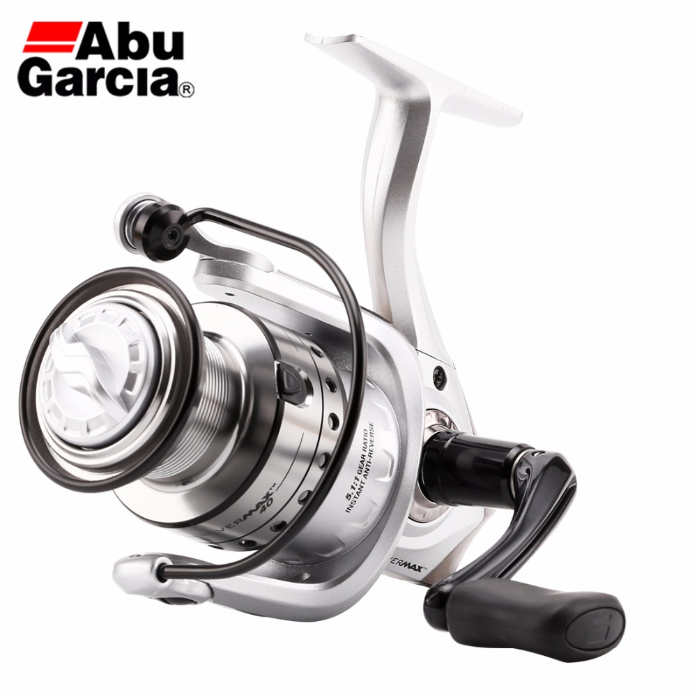 2017 Abu Garcia Brand  SMAXSP 500-4000 Series Spinning Fishing Reel 5+1BB Aluminum Spool Graphite Body Seawater Reel 100% abu garcia 6 1 ball bearings pro max spinning 500 1000 2000 3000 4000 series fishing reel machined aluminum spool
