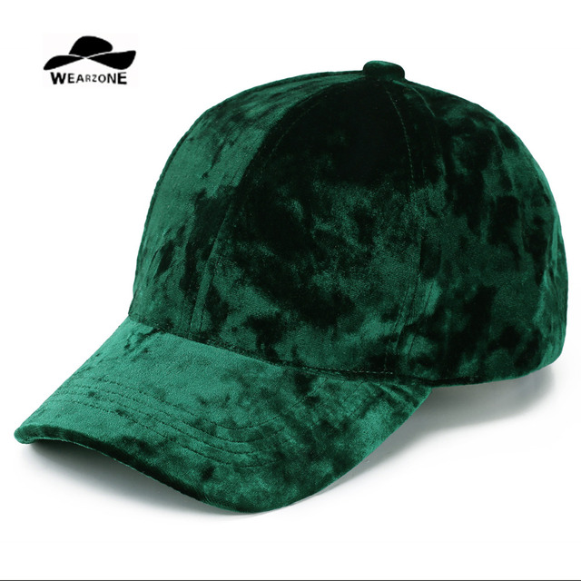 6f660ae95411c6 2017 Velvet Baseball Caps Outdoors Casquette Solid Golf Snapback Brim Caps  Bones Hip Hop Hats Men Women Gorras