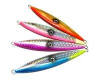 1 Pcs 4 Colors 15 3cm 120g Large Lead Fishing Lures Deep Sea Metal Spoon Lure