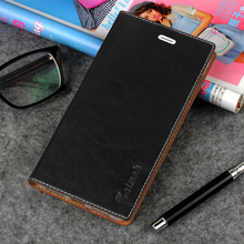 Sucker Cover Case For Huawei Honor 8 Lite High Quality Luxury Cowhide Genuine Leather Flip Stand Mobile Phone Bag + Free Gift