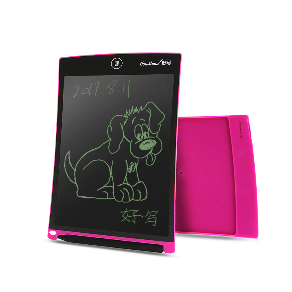 Howshow 8.5 Inch LCD Drawing Tablet Digital Graphics Handwriting Board Painting Writing Touch Pad With Stylus Pen Button Cell