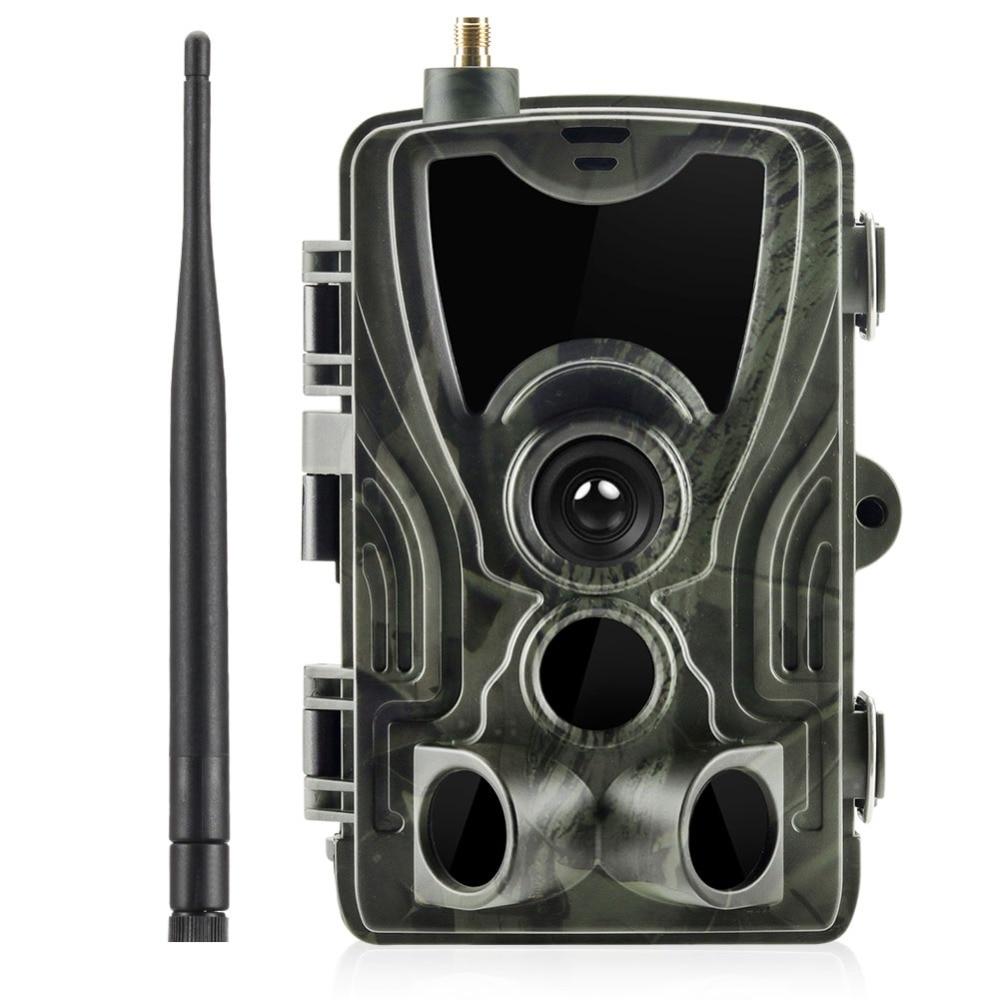 HC-801M 2G Caça Câmera Câmera Trilha 16MP SMS/MMS/SMTP Foto Armadilha Armadilhas 0.3s Tempo de Disparo caçador selvagem foto