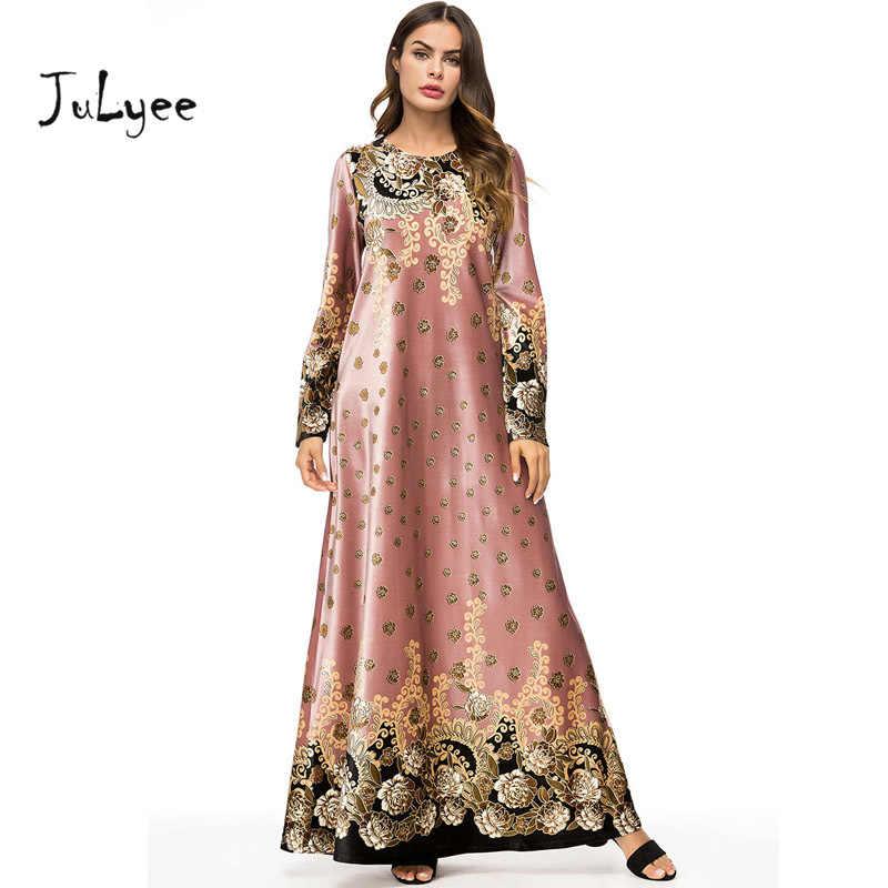 0993e3f9b17 Detail Feedback Questions about Julyee Velvet Pink Print Long Dress ...