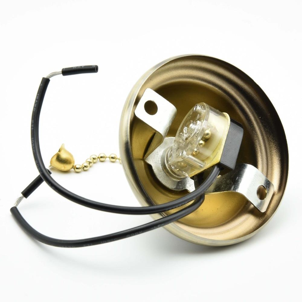 Reißverschluss Wechseln mit Abdeckungen Deckenventilator Schalter ON ...