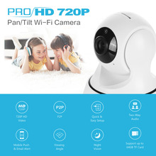 SANNCE IP Camera Wireless 720P IP Security Camera WiFi IP Security Camera Baby Monitor Security Camera Easy QR CODE Scan Connect