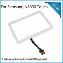 """10.1 """"Blanco Para Samsung Galaxy Note N8000 N8010 N8013 Pantalla Táctil Digitalizador Sensor de Cristal Tablet Pc piezas de Repuesto"""