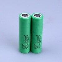 삼성 inr 18650-25r 3.6 v 2500 mah 다이나믹 리튬 이온 충전식 충전식 배터리 (무료 충전기 포함)